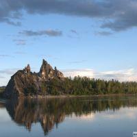 остров напротив р. Столбовой The island near Stobovaja Rv, Балыгычан