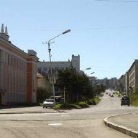 http://ber.magadan.ru. Здесь начинается улица Дзержинского, Магадан