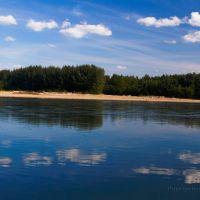 Buyunda river, Омонск