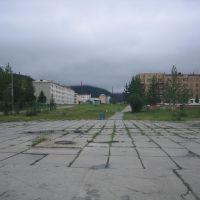 Центральная площадь Омсукчана, Омсукчан