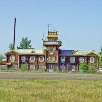 Здание аэропорта в Сеймчане, Сеймчан