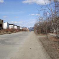 Магаданская область. Ягоднинский район. п. Синегорье. Magadan region. Âgodninsk area. p. Sinegorye., Синегорье