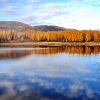Озеро, окресности поселока Синегорье, Синегорье
