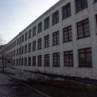 Школа №1, Усть-Омчуг, апрель 2004, Усть-Омчуг