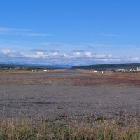 п.Эвенск. Взлетная полоса. Фото В.Лахненко, Эвенск