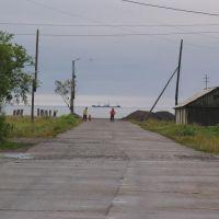 п.Эвенск. Улица Победы. Фото В.Лахненко, Эвенск