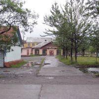 """Магазин """"Промтовары"""". п.Эвенск, сентябрь 2006 г. Фото В.Лахненко, Эвенск"""