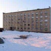 Общежитие СЭГРЭ. п.Эвенск, январь 2009 г. Фото В.Лахненко, Эвенск