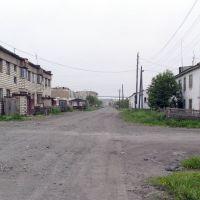 ул. Гоголя, п. Эвенск, август 2009 г. Фото В.Лахненко, Эвенск