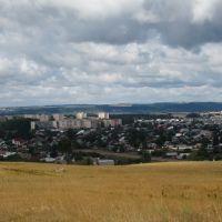 Вид на Волжск с Лысой горы, Волжск