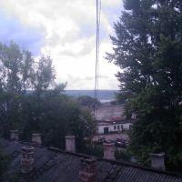 волга через промзону, Волжск