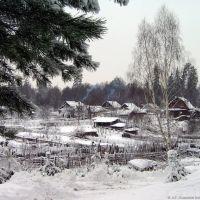 Окраина города Волжска. Рядом городской парк, Волжск