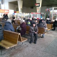 внутри автовокзала, Йошкар-Ола