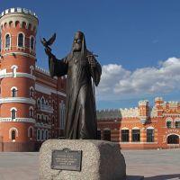 Памятник Патриарху Алексию II, Йошкар-Ола