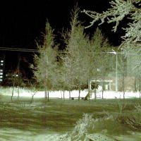 Ночной зимний город, Козьмодемьянск