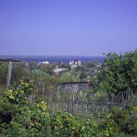 Вид с музея  на церковь, Козьмодемьянск