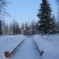Памятник Воинам Великой Отечественной, Куженер