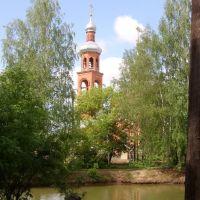 Церковь (вид с зоопарка), Медведево