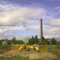 Газопровод., Медведево