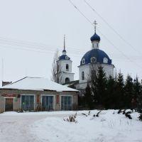 Церковь и книжный, Новый Торьял