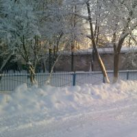 Зима в Параньге, Параньга
