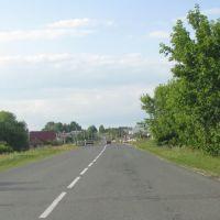 Дорога на Русскую Велязьму, из центра Атюрьево, Атюрьево