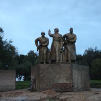 Памятник погибшим воинам, Атюрьево