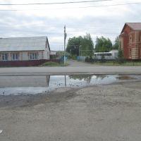 Атяшево, площадь у автовокзала, Атяшево
