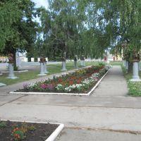 Аллея Героев в Атяшево, Атяшево