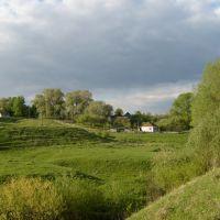 Сельский пейзаж., Большое Игнатово