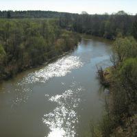 """река Выша """"чугунный мост"""", Выша"""