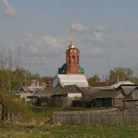 вид с моста на Церковь, Ельники