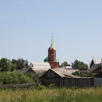 Впереди церковь, Ельники