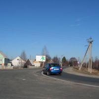 въезд в Зубову Поляну с трассы М5, Зубова Поляна