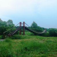 Повесной мост через р. Парца, Зубова Поляна