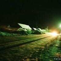 улица Пролетарская зимней ночью, Зубова Поляна