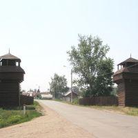 Сторожевые башни на въезде в город, Инсар