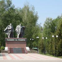 Памятник погибшим воинам, Кемля