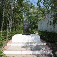Памятник погибшим во время кулацкого восстания в 1931 году, Кемля