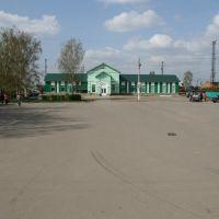 Вокзальная площадь, Ковылкино