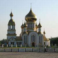 Церковь в п. Комсомольский, Комсомольский