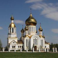 Храм в п.Комсомольский, Комсомольский