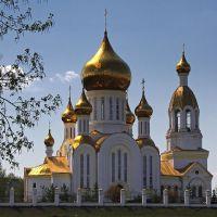 Благовещенский храм в п.Комсомольский, Комсомольский