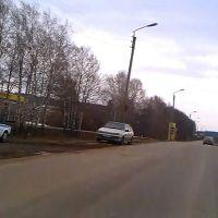 АЗС слева., Кочкурово