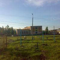 Физкультурный двор школы., Кочкурово