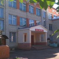 Крыльцо школы., Кочкурово