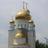 Domes in Russia cover with pure gold       That more often the God noticed.. V.Vysozkij, Краснослободск