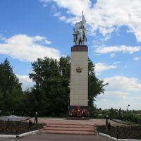 Памятник погибшим воинам, Лямбирь