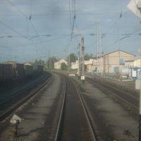 Станция Красный Узел, Вид с севера, Ромоданово