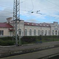 ст.Красный Узел (вид из поезда), Ромоданово